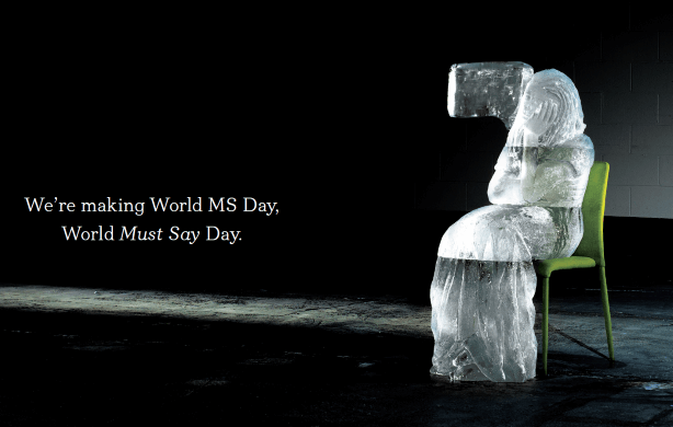 Empowering the MS community to have their say on 'World Must Say Day'.